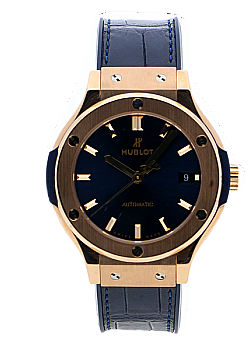 Hublot Classic Fusion Blue King Gold (762)