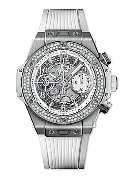 Hublot Big Bang Unico Titanium White Diamonds