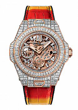"Hublot Big Bang Meca-10 ""Nicky Jam"" High Jewellery"