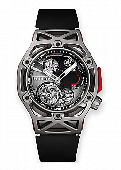 Hublot Techframe Ferrari Tourbillon Chronograph Titanium