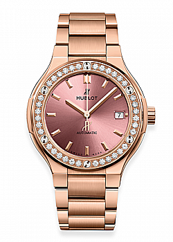 Hublot Classic Fusion King Gold Pink Bracelet