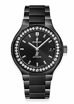 Hublot Classic Fusion Black Magic Bracelet Diamonds