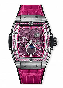 Hublot Spirit Of Big Bang Moonphase Titanium Pink