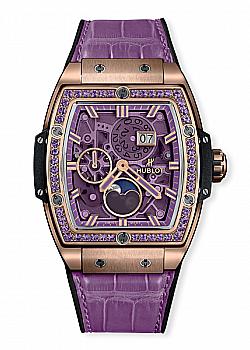 Hublot Spirit Of Big Bang Moonphase King Gold Purple