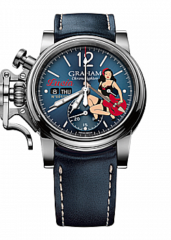 Graham Chronofighter Noseart - Lucia