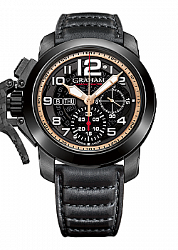 Graham Chronofighter Steel Black PVD