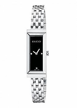Gucci Ladies G-Frame Diamond Watch