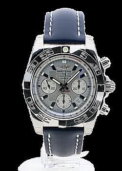 Breitling Chronomat 44 Grey Leather