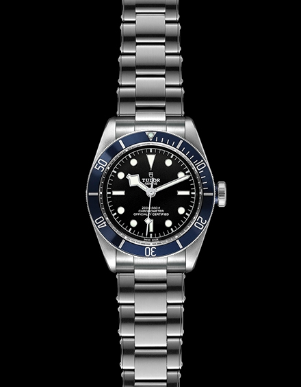 Tudor Black Bay Swiss Dive Stainless Steel Blue 41mm Gents Automatic