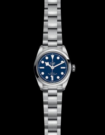 Tudor Black Bay 32 Stainless Steel Blue Ladies Automatic